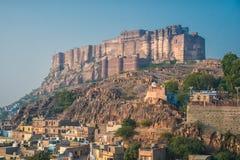 Fortificazione di Mehrangarh Fotografia Stock Libera da Diritti