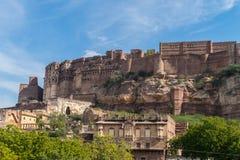 Fortificazione di Mehrangarh Immagini Stock Libere da Diritti