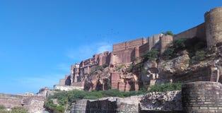 Fortificazione di Mehrangarh di Jodhpur Immagini Stock