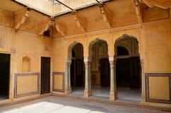 Fortificazione di Nahargarh fotografia stock libera da diritti