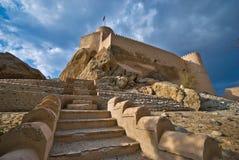 Fortificazione di Nakhal fotografia stock