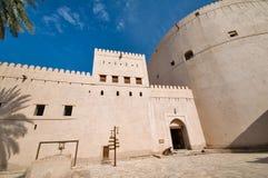 Fortificazione di Nizwa fotografie stock