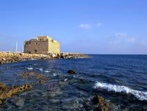 Fortificazione di Paphos Fotografie Stock Libere da Diritti