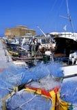Fortificazione di Paphos Immagini Stock Libere da Diritti
