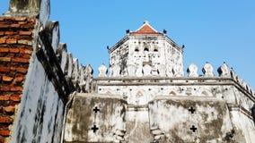 Fortificazione di Phra Sumen fotografia stock libera da diritti