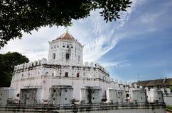 Fortificazione di Phra Sumen, Bangkok fotografia stock