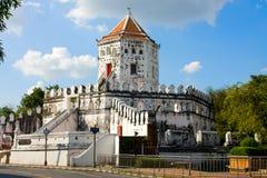 Fortificazione di Phra Sumen, Bangkok, Tailandia Fotografia Stock