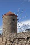 Fortificazione di Rhodos Immagini Stock Libere da Diritti