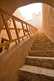 Fortificazione di Rustaq immagine stock