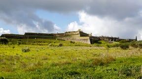 Fortificazione di Santa Luzia in Elvas Immagine Stock Libera da Diritti