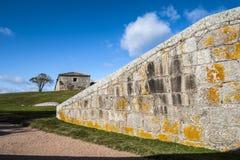 Fortificazione di Santa Teresa. Rocha. L'Uruguay Immagine Stock
