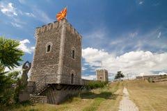 Fortificazione di Skopje immagine stock
