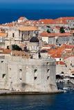 Fortificazione di St John in Ragusa, Croazia, fotografia stock