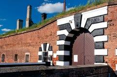 Fortificazione di Terezin Immagine Stock Libera da Diritti