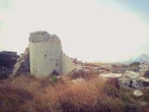 Fortificazione distrutta Fotografia Stock