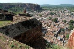 Fortificazione e città Immagini Stock Libere da Diritti