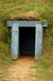 Fortificazione Fisher, entrata dello scomparto di polvere fotografie stock
