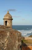 Fortificazione Garita di EL Morro Fotografie Stock