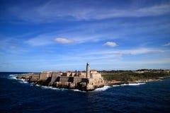 Fortificazione Havana Cuba di Morro Immagini Stock