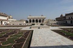 Fortificazione interna di Agra L'India Fotografie Stock