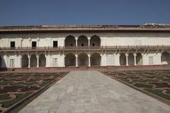 Fortificazione interna di Agra L'India Immagini Stock Libere da Diritti