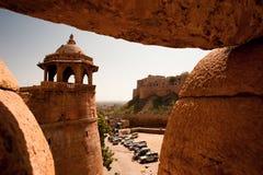 Fortificazione Jaisalmer Immagine Stock