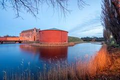 Fortificazione a Malmo, Svezia fotografia stock libera da diritti