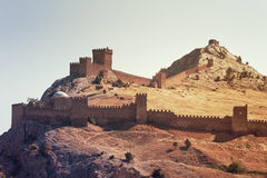 Fortificazione medioevale Fotografia Stock
