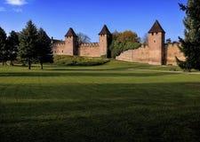 Fortificazione medioevale Immagine Stock