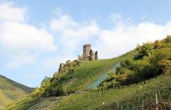 Fortificazione Metternich Beilstein, Renania Palatinato, Germania Fotografia Stock Libera da Diritti