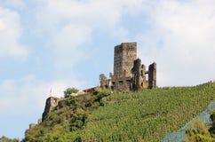 Fortificazione Metternich Beilstein, Renania Palatinato, Germania Immagine Stock Libera da Diritti