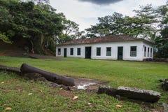 Fortificazione Paraty di Defensor Perpetuo Fotografia Stock Libera da Diritti
