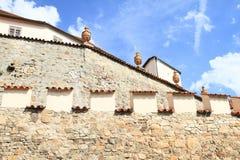 Fortificazione in Pisek Immagini Stock