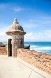 Fortificazione portoricana Fotografie Stock
