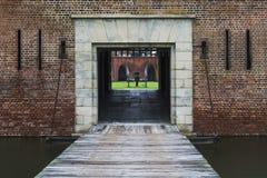 Fortificazione Pulaski Immagine Stock