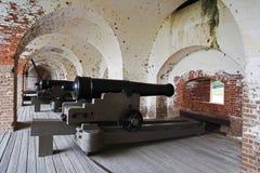 Fortificazione Pulaski Fotografia Stock