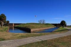 Fortificazione Pulaski fotografie stock