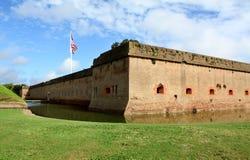 Fortificazione Pulaski Fotografia Stock Libera da Diritti