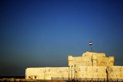 Fortificazione Qaitbey Immagine Stock