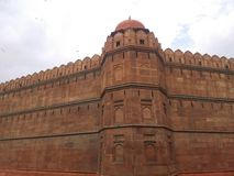 Fortificazione rossa Immagine Stock