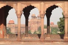 Fortificazione rossa fotografie stock