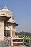 Fortificazione rossa Delhi dell'allerta del palazzo Fotografia Stock Libera da Diritti