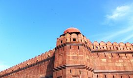 Fortificazione rossa Delhi/India Fotografia Stock Libera da Diritti
