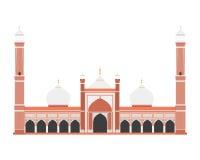 Fortificazione rossa, Delhi, India Illustrazione di vettore illustrazione vettoriale