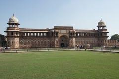 Fortificazione rossa di Agra, India Immagine Stock Libera da Diritti