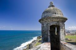 Fortificazione San Cristobal della torretta di protezione Fotografie Stock