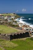 Fortificazione San Cristobal, San Juan, Porto Rico Fotografia Stock