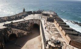 Fortificazione San Felipe Del Morro Fotografie Stock