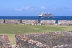 Fortificazione San Felipe Del Morro Fotografia Stock