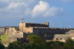 Fortificazione a San Juan Fotografie Stock